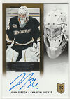 2013 13-14 Panini Contenders #218 John Gibson Autograph RC Rookie