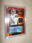 2014 Select Orange Johnny Manziel Rookie Auto Jersey Card 10 25 SSP L@@K