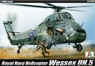 Academy 1/48 Plastic Model Kit WESSEX UH.5 Royal Navy Helicopter 12299 ITALERI