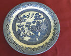 AROUND PLATTER/SERVING PLATE-CHURCHILL MADE IN STAFFORDSHIRE ENGLAND-BLUE WILLOW