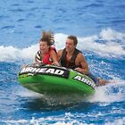 Airhead Slice Flat Inflatable Water Round Tube 2 Rider Boat Tow Towable AHSSL 22