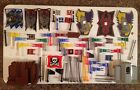 Lego Pirate / Castle Lot of Accessories Parts Treasure Chest Flags Banners Etc..