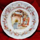 Royal Doulton BRAMBLY HEDGE Winter Miniature Plate 3 3/8