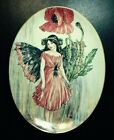 Vintage Royal Worcester 1998 Cicely Mary Barker The Poppy Fairy Free Shipping