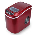 NEW Portable Ice Cube Maker Countertop 26 lb/day Machine ETL/CSA/UL Listed -Red