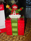 Fitz and Floyd Holiday Folk Lidded Box 2009 NIB