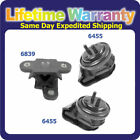 M448 Front L R Engine Motor  Trans Mount For 1999 2003 Chevy Tracker 20L w AT