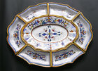 DERUTA ITALIAN POTTERY ANTIPASTI SET, DERUTA RICCO 7 PCS HAND PAINTED IN ITALY