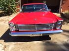 Ford Galaxie 2 door hard top 1965 red ford galaxie 500 two door hard top v 8 excellent condition