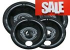 Drip Pans Set 4 Replacement 6