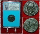 ANCIENT COIN Philip I The Arab Eagle Holding Wreath In Beak On Reverse