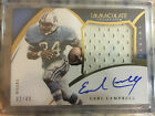 2015 Panini Immaculate Earl Campbell Premium Patches Auto DirtyJumbo Patch 32 49