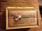 1970s Vintage White-Rodgers Working Wall Thermostat