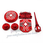 Red Engine Dress Up Kit Tappet Cover Chinese Lifan YX Zongshen 50cc 70 90 110cc