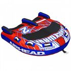 Airhead Shockwave 2 Rider Inflatable Water Tube Float Boat Tow Towable AHSH 2