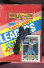 1988 Topps Leaders Baseball Card Wax Pack Box Prob Complete Set FACTORY SEALED