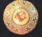 Lovely Made In HOLLAND Vintage Tin w/Intricate Embossed CLOISONNE Design