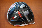 TaylorMade Golf R15 TP 460 White 10.5* Driver Head Only - W/ HEADCOVER M