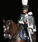 Napoleonic Prussian Life Hussar circa 1809 Mounted Metal Toy Soldier 54mm New