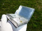 Vintage Thorens Pre Reuge Minature Music Box Sterling Silver Powder Compact Case