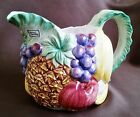 Fitz and Floyd Calypso Fruit 48 ounce (1.5 Qt) Pitcher