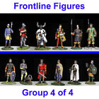 12 Medieval Metal 54mm Toy Soldier by Frontline Figures Knights New 1:32 scale