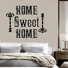 Vinyl Wall Decal Home Sweet Home Quote Room Decoration Stickers Mural ig3644