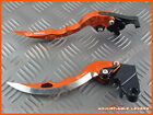 Honda CB400SS / SS2 2001 - 2005 CNC Long Blade Adjustable Brake Clutch Levers