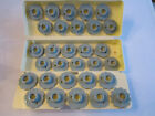 VINTAGE LOT OF 1-30 SEWING PATTERN CAMS IN THE CASE - NICE CONDITION