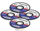 ADDAX STAINLESS STEEL ANGLE GRINDER METAL CUTTING DISCS THIN VARIOUS SIZES