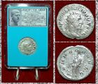 Ancient Roman Coin PHILIP I The Arab Silver Antoninianus Annona On Reverse
