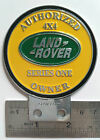 Land Rover Series one 1 2 A owner CLUB BADGE VINTAGE CLASSIC PARTS FOR SALE 2a