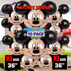 1pc 5pc 10pc Mickey Mouse Baby Shower Boy Balloon Balloons Minnie Red Birthday