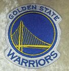 Golden State Warriors NBA 375 Iron On Embroidered Patch USA Seller FREE Ship
