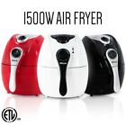 1500w Airfryer Electric System 4.4 qt No-Oil Deep Air Fryer Temperature Control