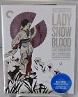 Complete Lady Snowblood Blu Ray Criterion Jan 2016 1973 Japanese Mystery