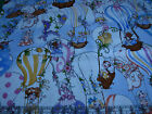 2.4 Yards Quilt Cotton Fabric- QT Loralie Up Up and Away Ladies Hot Air Balloons
