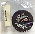 Eric Lindros 2015 Panini NSCC National Promo NHL Authentic Hockey Puck Autograph