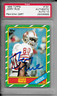 1986 TOPPS JERRY RICE AUTO SIGNED PSA DNA GEM MINT 10 AUTOGRAPH W RICE HOLOGRAM