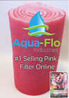 10' ROLL WET DRY FILTER PADS MEDIA KOI PONDS BONDED BIO BALL+ PINKY PIGGY CARD