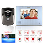 SY 7 Color Touch Screen Video Door Phone with PIR Record intercom System and IR