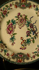 Royal Worcester Old Hand Painted Chinese Floral Plate #9118 from 1912, 10 3/8