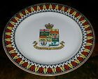 Antique Adams Tunstall England Plate HandPainted Dominion of Canada Coat of Arms