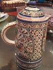 Made in Portugal Louca de Coimbra Hand Painted Decorative Coffee Pot