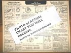 1933 Buick EIGHT Series 33-50 Optional L.C. Models AEA Tune Up Chart LAST ONE!