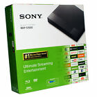 Sony BDP-S1500 Wired Streaming Blu-Ray Disc DVD Player Full HD 1080 UD - In Box