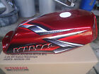 NOS YAMAHA 2008 RXKING RX KING CONCORDE RX 135 CC RED GASTANK FUEL TANK GENUINE