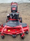 2015 Toro Commercial 52 hydro Walk behind mower ONLY 86 hrs not exmark scag