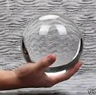150MM 6 Inch Clear Crystal Ball Collectible Paperweight with Stand