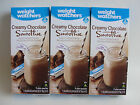 Weight Watchers Creamy CHOCOLATE Smoothie Shakes Three 3 Boxes  21 Shakes